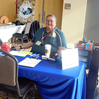 Attendees and visitors to the 2016 Northern Utah Coin Show